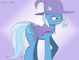 Trixie Lulamoon - The Great and Powerful by bakumaru01