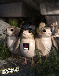 Come to the Porg Side by JoePingleton