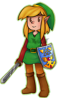 Link: The Faces of Evil Chibi by Po-Zu