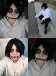 Jeff the Killer Cosplay by rise13eyond