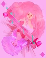 Rose of Diamonds by WhispersWillow