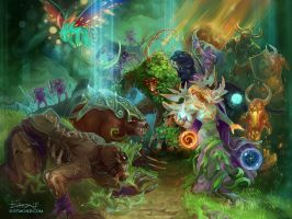 Defence of the Ancients by CurlyJul