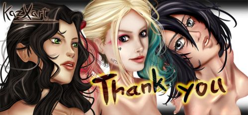 Thank you, your support is much appreciated ^_^ by KazXart