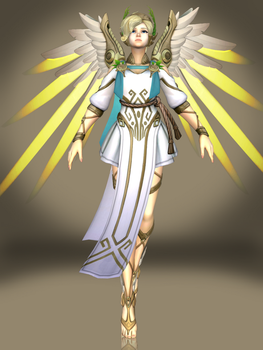 Mercy (Winged Victory) by Sticklove