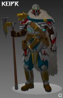 Keipr Online: Wolfguard by TroyGalluzzi