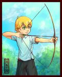 Archery is cool xD by Thouy1
