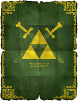 Legend Of Zelda Poster 02 by HellGab