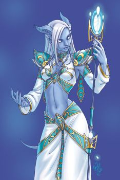 Draenei by Yulcha