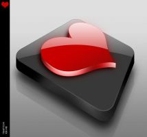 Heart icon by Balling