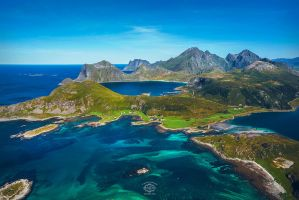 Lofoten in Summer by MD-Arts