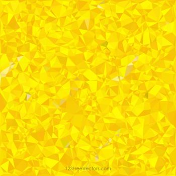 Polygonal Yellow Pattern Background Free Vector by 123freevectors
