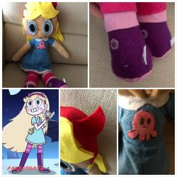 Star Butterfly plush 1/5 summer by Creator52