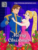 Flynn and Rapunzel - Merry Christmas by Richmen