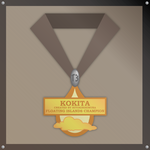Floating Islands Champ Medal by WINNINGisforLOSERS