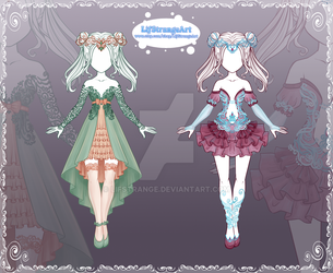[Close] Adoptable Outfit Auction134-135 by LifStrange