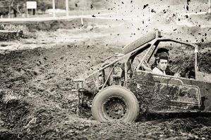 Mud, mud and a little bit more mud II by luca1984