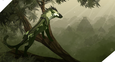 Forest Doggen by Lordfell