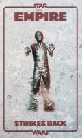 Star Wars - Han Solo in Carbonite 3d Anaglyph - V1 by 3ftDeep