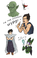 Dragon Ball randomness! by Jakiron