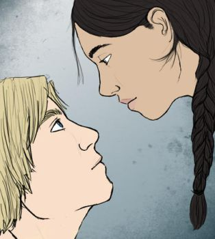 Katniss and Peeta by fit
