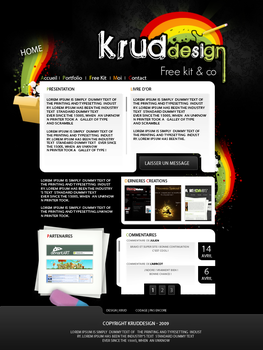 Design Portfolio Krud by KrudDesign