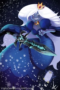 Ice Queen - Adventure Time by VariaZim