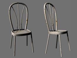 3D-stock chair by AJK-Original-Stock