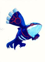 Legendary Pokemon: Kyogre