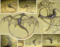 wire dragon by selpire