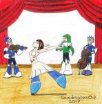 Dance and music by Guadisaves02