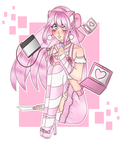 * Contest * Cyber yandere by miminaa-chan