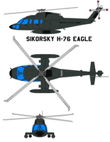 Sikorsky H-76 Eagle by bagera3005
