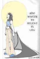She Wants To Believe In God by Jack042