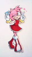 Have No Fear, Amy Rose is Here! by CyberneticEden