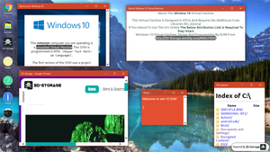 Windows 10 HTML Virtual Machine by Samdenty99