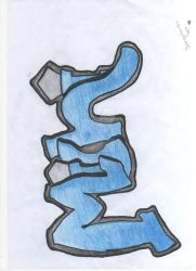 Graffiti of my name by Freaky-Mee