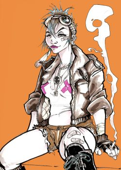 tank girl quicky by weshoyot