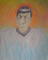 Spock from 'Unification' 02 by scottlukaswilliams