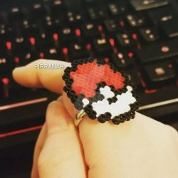 Pokeball Ring by Pirranah-HyddenSky