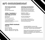 Now Open: Art Commissions! by trelliah