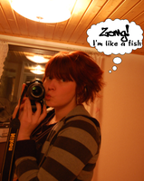 I'm a fish. Or something. by K1zzy