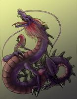 Laughie dragon Xchange by Anarchpeace