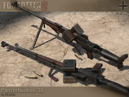 PzB39 Anti-Tank Rifle by McGibs