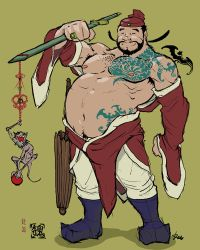 Zhong Kui--vanquisher of ghosts and evil entities by KevAegis