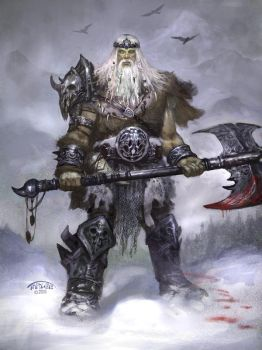 Return of the Northern Giants by TARGETE