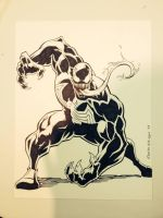 venom con commission by CharlesEttinger
