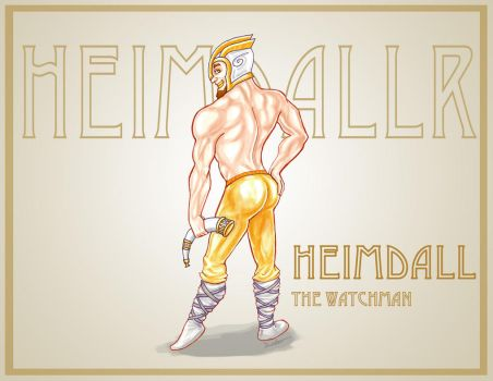 March Heimdall by TheEndOfGrey