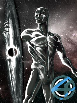 S is for Silver Surfer by MatthewRoyale