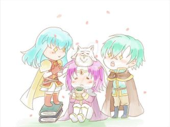 Happy Sacred Stones Friends by lisaLEUNG
