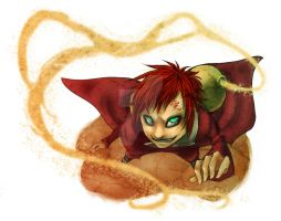 GAARA ATTACK by against-the-law
